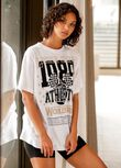 Hoop Time Oversized Tee, White, hi-res