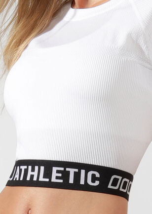 Athletic Cropped Seamless Tee