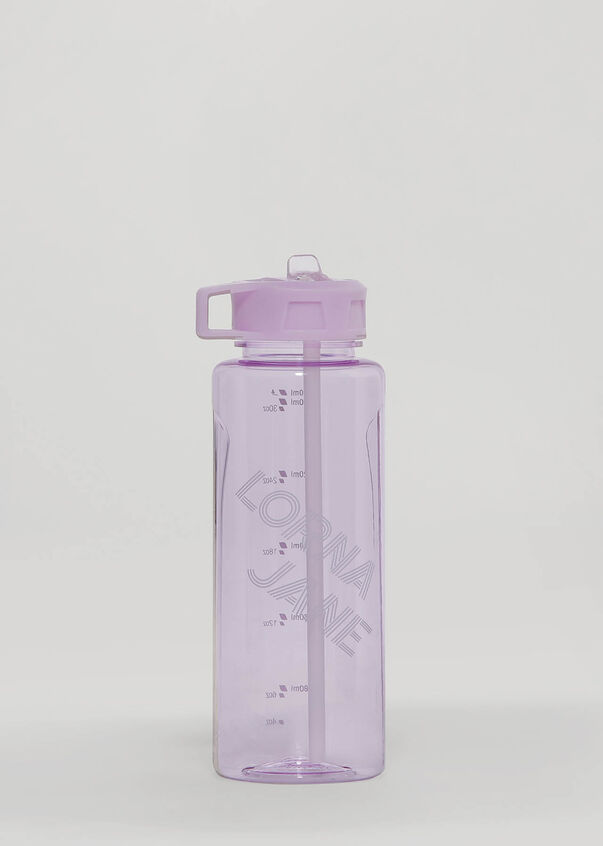 Lorna Jane 1L Water Bottle, Pale Orchid Lilac, hi-res