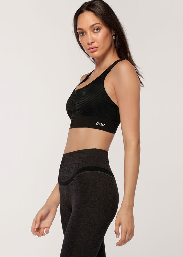 THE ONE Sports Bra, Black, hi-res