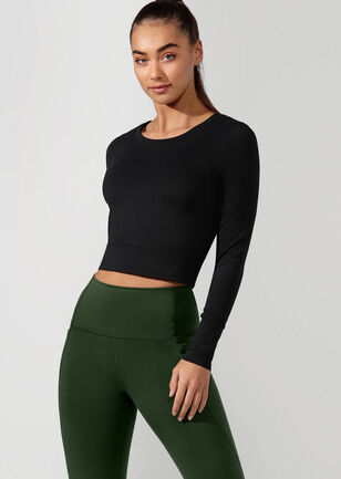 Workout Bare Minimum Cropped Top