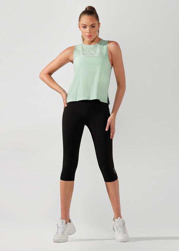 Cardio Active Tank, Minted, hi-res