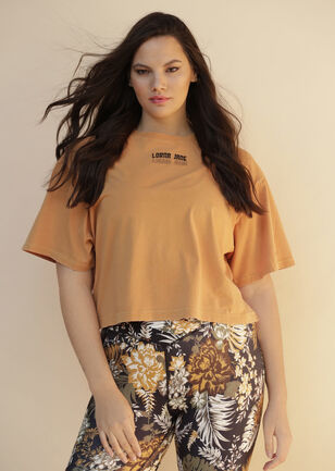 Retro Classic Cropped Tee