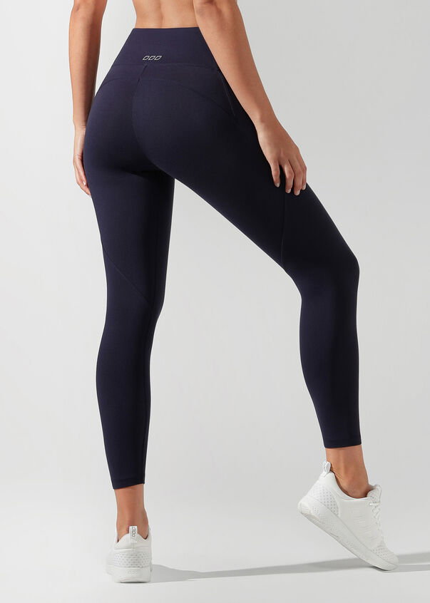 Amy Phone Pocket Ankle Biter Tight, French Navy, hi-res