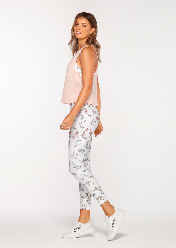 Dash Active Cropped Tank, Dusty Peach, hi-res