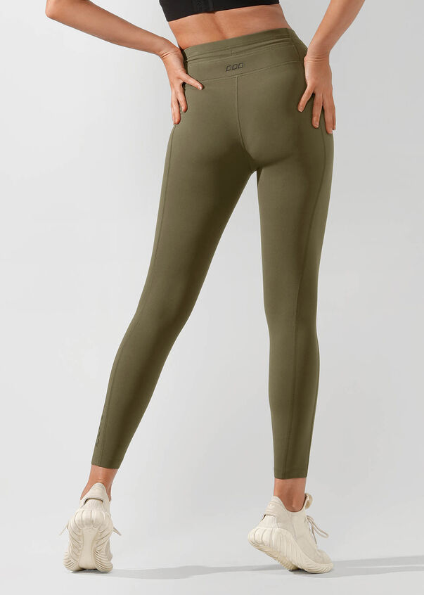 Yasmin Core Ankle Biter Tight, Pale Olive, hi-res
