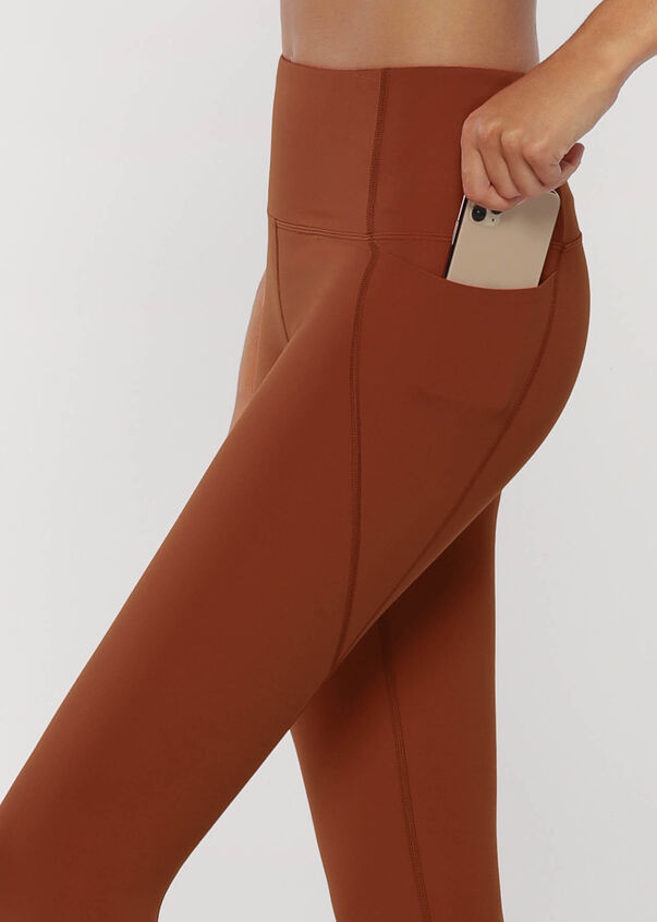Dash Ankle Biter Leggings, Copper, hi-res