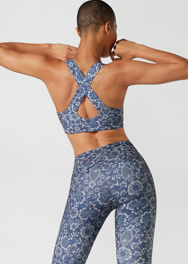 Foundation Support Sports Bra, Free Spirit Print, hi-res