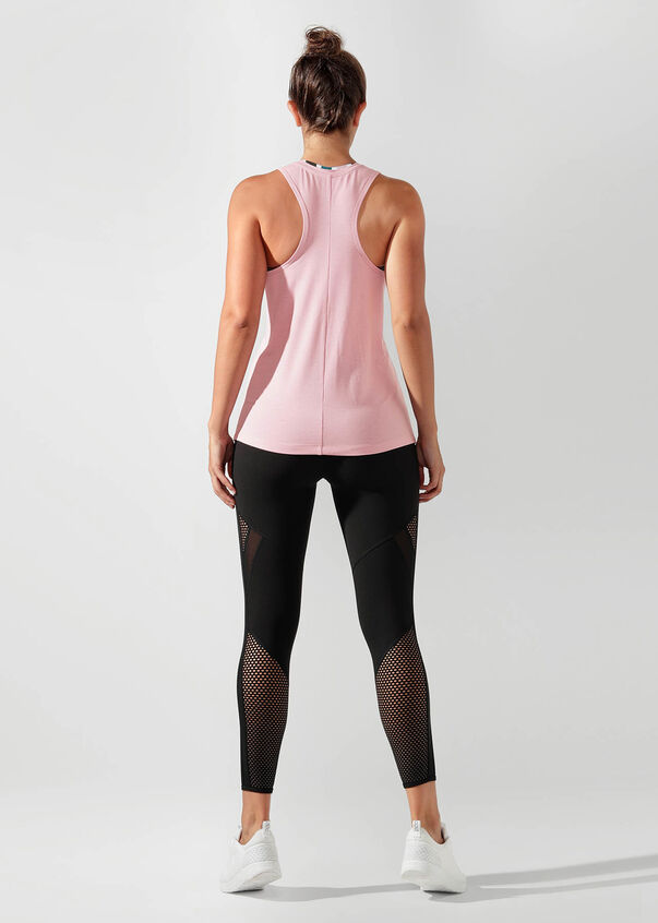 Gym Time Active Tank, Dusty Rose, hi-res