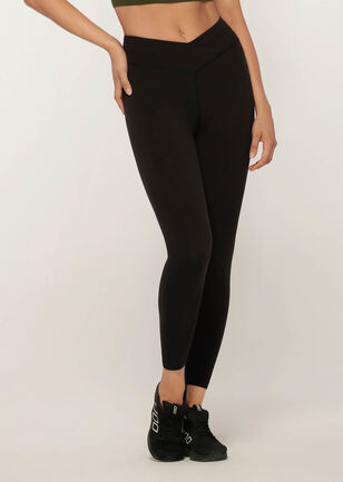 Wrap Waistband Ankle Biter Tight
