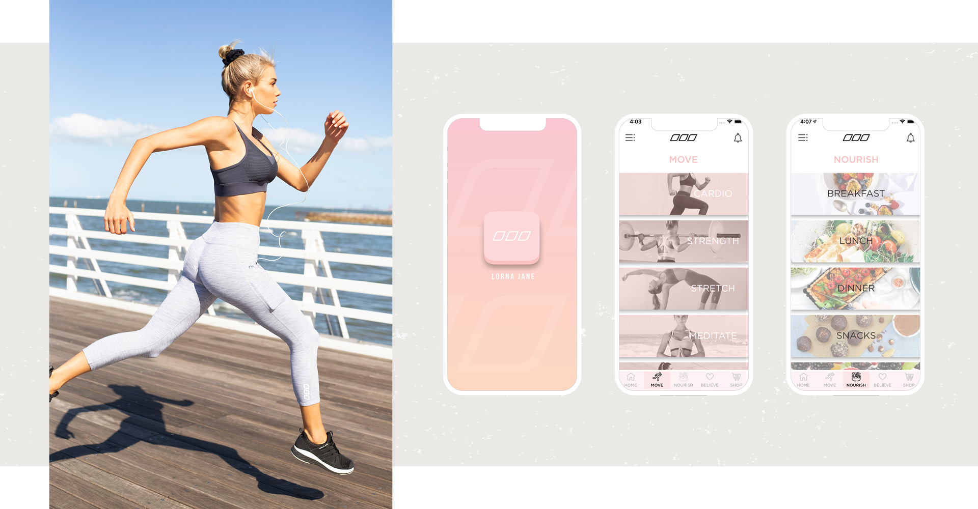 Lorna Jane Active Living App
